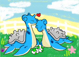 Lapras love by raveneevee
