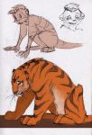 max and tiger sketch by MoonLightRose17