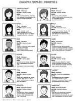 Character List - Semester 2 by MOLD123