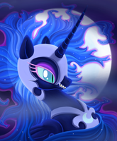 Nightmare Moon by TheMoveDragenda