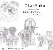 ItaSaku vs- by Ila-Sweet