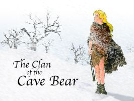 The Clan of the Cave Bear Desk by JSPailly