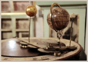 Orrery by barefootliam
