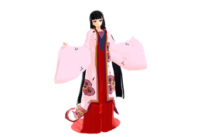 MMD DL Izayoi from InuYasha (Beta) by Clonesaiga