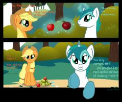 Applebucking 2 by mlpAzureGlow