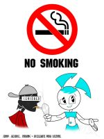 NO SMOKING by WittNV