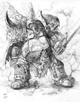 Death Guard sketch by zompf