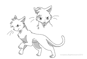 warrior cat template-male by reaper-neko