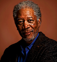 Morgan Freeman Once More by donvito62