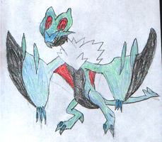 Shiny Exchange: Noivern for Zen-Violetbone by thecat1313