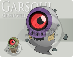 Fake Pokemon - Garsoul by Prinny-Dood