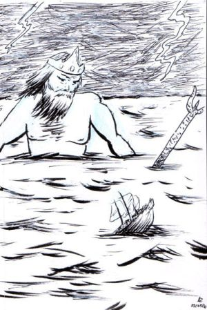 Poseidon... King of the Sea