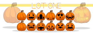 12 Pumpkins by zombie