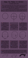 Chibi Tutorial (+Lineart and color tutorial) SAI by Wosda