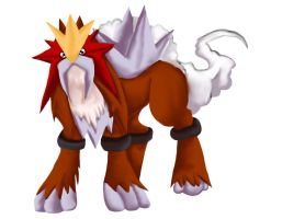 Entei by Animal-and-anime-lvr