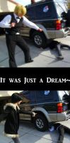 It was just a Dream, Shizuo by doodle-disaster
