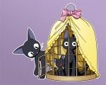 Jiji, kitty and toy by natale