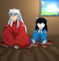 Food Fight - InuYasha by alisama88
