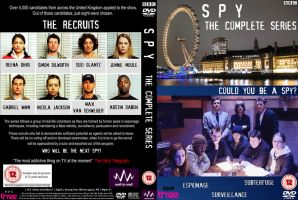 Spy Custom DVD Cover by blackbird2193