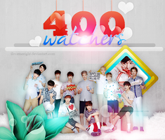 +PACK 400 WATCHERS by iLoveMeRight