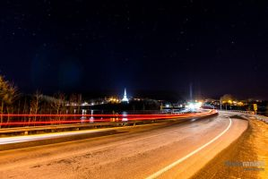 Mabou Light Trails by steverankin