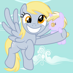 Derpy's New Watch by Beavernator