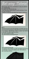 Tutorial Bat-wing by PVdL