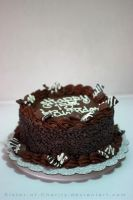 Chocolate Birthday Cake by Sister-of-Charity