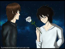 Death Note: A Rose For You by Sapphiresenthiss