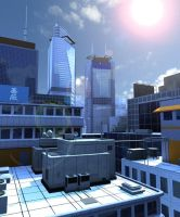 Mirror's Edge by majinlogan