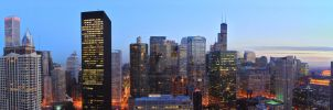 Chicago Panorama by jwilds1