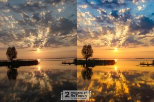 SunSet 2 Minute Retouch by kerimheper