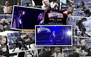 Undertaker and Triple H WM28: This Is Not Over by i-am-71