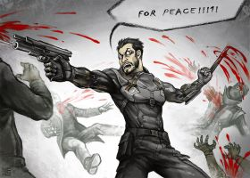 For Peace! by Lei-Ren