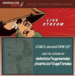 Commission Stream - Adrenaline Shots - Page 02 by HugoTendaz