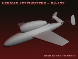 WIP - German Jetfighters of WW2 - HENSCHEL HS-132 by ulimann644