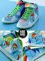 Rainbow Dash Sneaker by Bobsmade