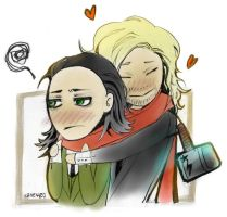 Thor and Loki: LET ME LOVE U by Vane401