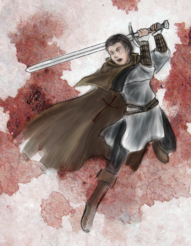 Templar Tuesdays: Maria Thorpe by SirLadySketch