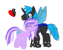 Comet Fall and Lavender Breeze by Lyingsmile15