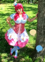 Pinkie Pie Cosplay by bewitchedraven