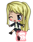 Winry Chibi by IcyPanther1