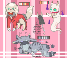Mix-themed adopts Batch One CLOSED by PipCookiesAdopts