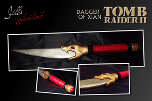 Tomb Raider II: Dagger of Xian by JillaValentina
