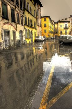 a street in Italy by direct-evul