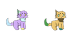 Cat adopts (OPEN, 2/2) by Rose150