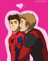 Wade and Peter by Tsuki-Nekota