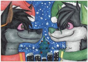 X-mas gift. by Gamibrii