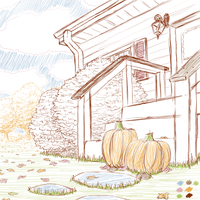 Autumnal doodle by hlavco