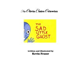 The Sad Little Ghost Cover by glassonion14